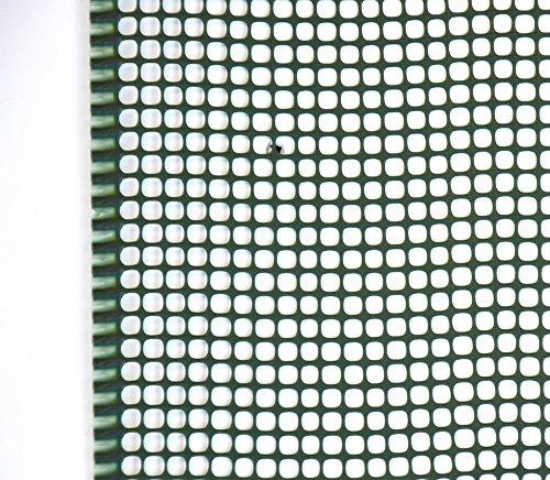 Verdelook Filet 5 x 5 Mini carré Maille Petit Vert Dimensions 1 x 5 m, Support Balcon