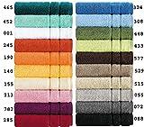 Handtücher Serie Prestige in schwerer amerikanischer Luxus-Qualität in 5 Größen und 20 Farben Größe 2 x Handtücher 50x100 cm, Farbe 465 petrol