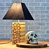 #6: Casa Décor Intertwined Wood Blocks Indoor Lighting / Home Decorative Items / Gift Item / Night Lamp / Table Top / Study Lamp / Desk Lamp / Bedside Lamp / Corner Lamp / Decoration Items / Table Decor For Home Decor & Gift Items