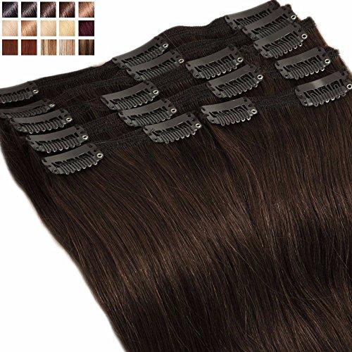 S-noilite® Extensiones clip pelo natural cabello