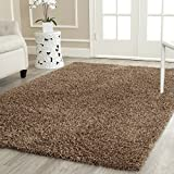 BRAVICH RugMastersLight Brown Medium Rug 5cm Thick Shag Pile Soft Shaggy Area Rugs Modern Carpet Living Room Bedroom Mats 80x150cm (2