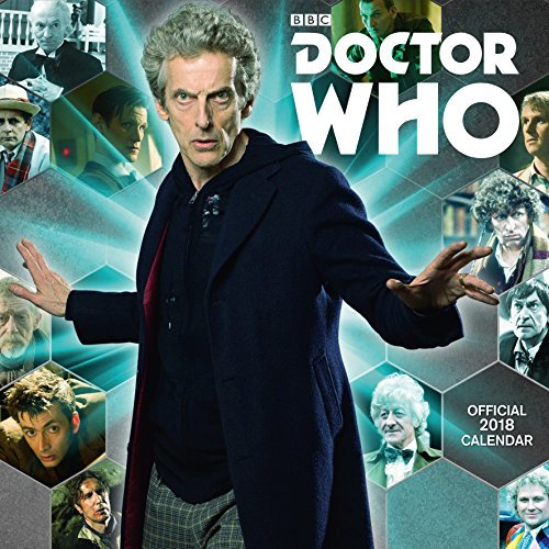 Doctor Who Classic Edition Official 2018 Calendar - Square Wall Format, Livres/Bande dessinée