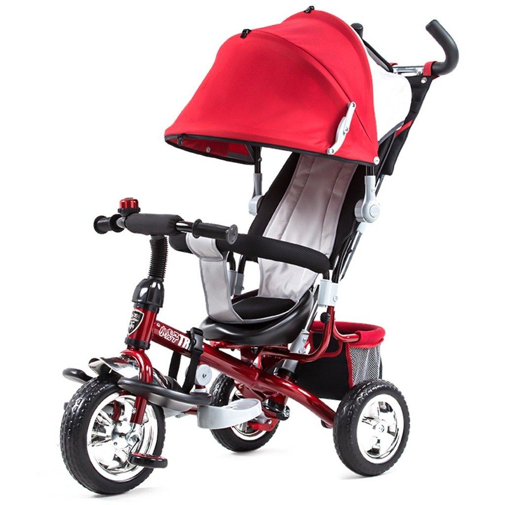Qiangzi Nuovo Triciclo del bambino di 3 ruote di Bambini Carrello Triciclo Baby Carriages Bambino B