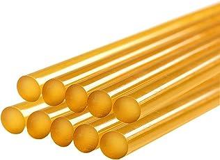 Kejia Yellow Sticks for Hot Melt Glue Gun - Pack of 10 Pieces