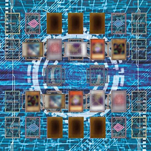 jieGREAT Kind Puzzle Spielzeug 60x60cm Gummispielmatte , Egypt Mural Style Competition Pad für Karten