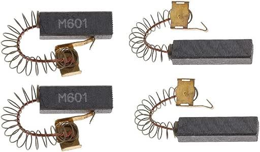 FLAMEER 2X Balais de Charbon de Raboteuse Electrique De Sèche Cheveux 40x11,5x6,5 mm
