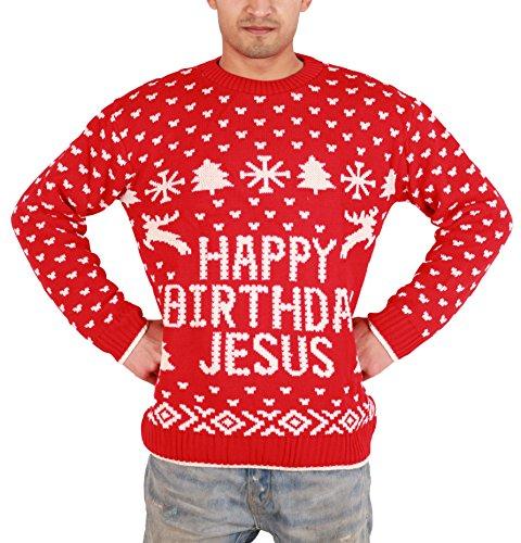 Hommes Adultes Nouveauté Nu Père Noël Joyeux Noël Pulls chandail Taille S M L XL XXL