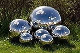 Köhko Dekokugel poliert aus hochwertigem Edelstahl 5 cm Gartenkugel Edelstahlkugel Schwimmkugel