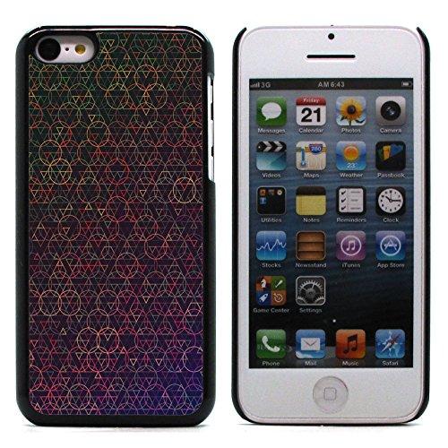 Graphic4You Grün Muster Harte Hülle Case Tasche Schutzhülle für Apple iPhone 5C Design #1