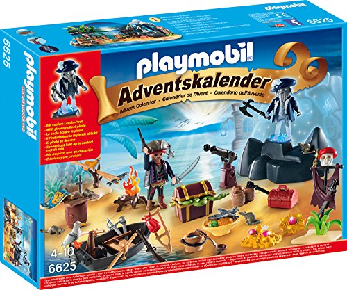 Playmobil Adventskalender Geheimnisvolle Piratenschatzinsel