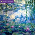 Monet's Waterlilies 2018 Calendar