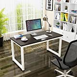 Computer Table,47'' Sturdy Office Desk Study Writing Desk,Modern Simple Style PC Workstation Table