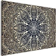 murando - Cuadro en Lienzo sintético Mandala 120x80 cm 1 Parte Cuadro de Pared impresión artística