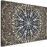 murando - Cuadro Mandala 120x80 cm - Impresion en calidad fotografica - Cuadro en lienzo tejido-no tejido - 1 parte Orient Zen Spa f-A-0637-b-b