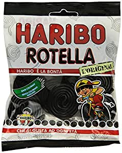Haribo 100Gr Rotella Liquirizia