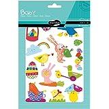 Maildor AE033O babyförpackning klistermärken (med 6 ark i format DIN A5, 14, 8 x 21 cm, perfekt för barn från 2 år, påsk) 1 p