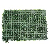 Foglia di edera artificiale, plastica privacy recinzione giardino verde parete dello schermo, paesaggistica falso pianta vegetale muro, thoroughwort prato sfondo decorazioni
