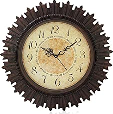 Steven Quartz Rdx Sns Creations Designer Round Wall Clock