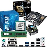 INTEL Skylake Pentium G4400 3.3Ghz, ASUS H110M-A CPU & Motherboard Bundle (4GB DDR4 2133Mhz)