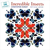 2017 INCREDIBLE INSECTS STICKER WALL CALENDAR U114