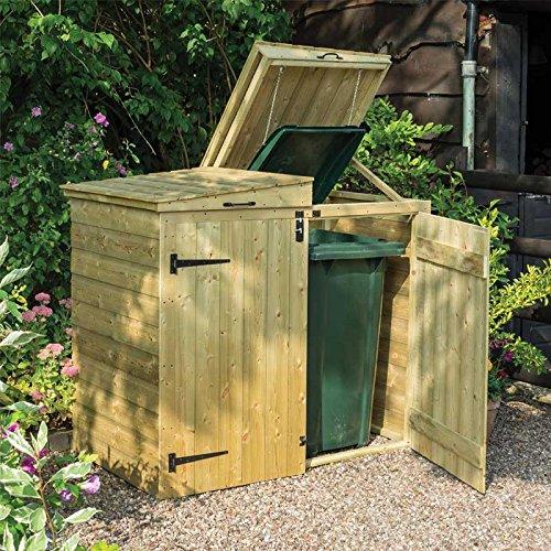 Rowlinson binlrga2Apex Mülltonnenbox, natur