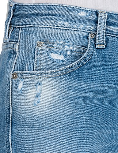 Replay Women's 12.5 Oz Original Open-End Denim Women's Pants 100% Cotton Denim
