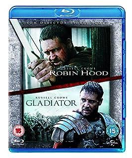 Robin Hood / Gladiator Double Pack [Blu-ray] [Region Free] (B003TFE482) | Amazon price tracker / tracking, Amazon price history charts, Amazon price watches, Amazon price drop alerts