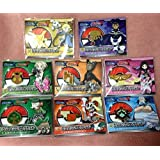 Pokemon Center gym badge collection xy 8 Set of