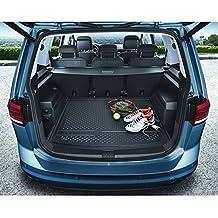 Volkswagen 5QA061161 Bandeja para el maletero, color negro