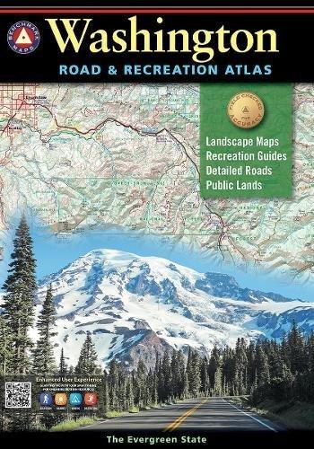 Washington Road & Recreation Atlas 8th Edition (Benchmark Road & Recreation Atlas) (Map Wa State)