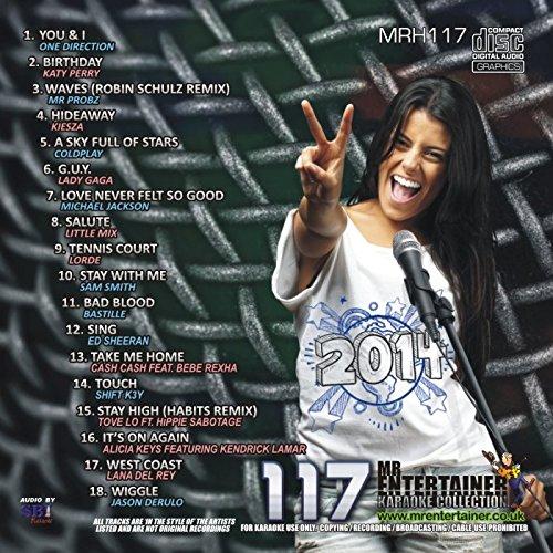 Mr Entertainer Karaoke Chart Hits Vol 117 - May 2014 (CD+G) MRH117 [Poly Sleeve]