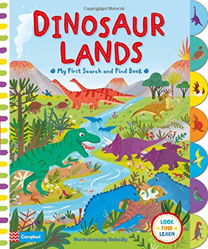 Image of Dinosaur Lands (My First Search and Find)