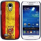 Graphic4You Español Bandera España Vintage Grunge Diseño Carcasa Funda Rigida para Samsung Galaxy S4 Mini