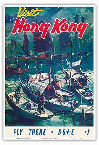 visit-hong-kong-fly-there-by-boac-british-overseas-airways-corporation-chinese-junket-boats-in-hong-