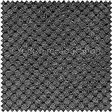 Weiches Samt Spotted Dotted Effekt Jumbo Cord Polster Stoff Textil Grau Anthrazit Farbe Auflagen Sofas Vorhänge Vorhang Gardine Raffrollo Stühlen Und Boote