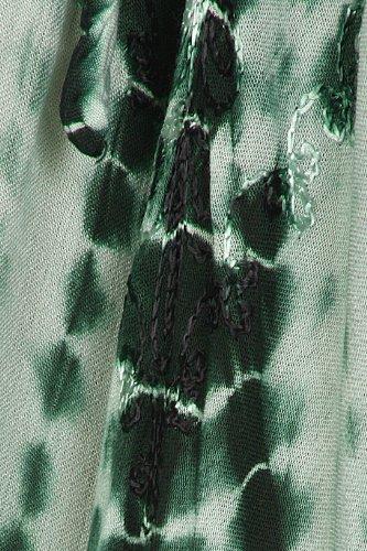Sakkas Melika Tie Dye Caftan Dress Vert