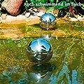 Edelstahl-Dekokugel 38 cm von Gärtner Pötschke auf Du und dein Garten