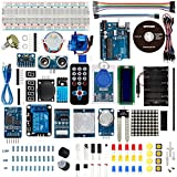 Smraza Super UNO Starter Kit with PDF tutorial 1602LCD RFID Servo Motor Relay Buzzer and More Sensors for Arduino Uno R3 S22