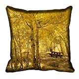meSleep Nature 60-135 Digitally Printed Cushion Cover (16x16) best price on Amazon @ Rs. 175
