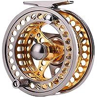 Carrete de pesca con mosca de aluminio hunpta di/ámetro 55/mm Tama/ño derecha o mano izquierda recuperar