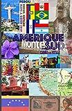 AMERIQUE DU SUD. Carnet de Voyage: Journal de Voyage. Agenda de voyage. Organisateur