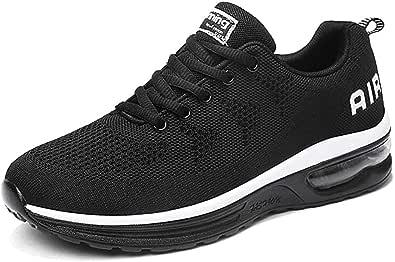 Scarpe da Ginnastica Uomo Donna Sportive Sneakers Running Basse Basket Sport Outdoor Fitness-BlackWhite34