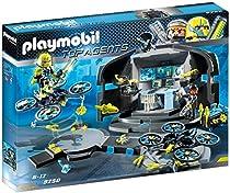 Contient 2 personnages, 1 QG, 1 base de d?collage, 2 drones et de nombreux accessoires (robots, outils, ordinateur?)