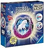 Ravensburger 12149 - Einhörner, Nachtlicht puzzleball, 72 Teile Puzzle