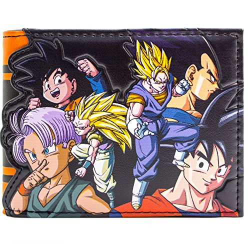 Dragon Ball Z Kampf-Team Orange Portemonnaie - Dragon Ball Kostüm Xenoverse