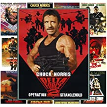Wall Calendar 2017 [12 pages 20x30cm] Chuck Norris Action Kung Fu # Vintage Trash Movie Posters Reprint