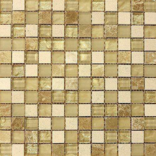 Klassischen Fliesen, 5981000Santa Capa quadratisch Glas Mosaik Fliesen (Santa Quadratische Gläser)