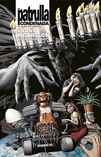 Patrulla Condenada de Morrison 4 por Grant Morrison