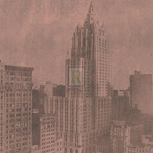 new-york-life-insurance-building-sepia-artistica-di-stampa-3048-x-3048-cm