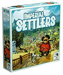 Pegasus Spiele 51962G - Colonos imperiales, edición Alemana, Juegos de Mesa